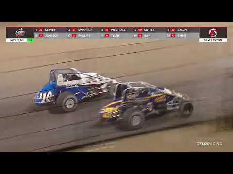 09.25.21 4-Crown Nationals   USAC Silver Crown - dirt track racing video image