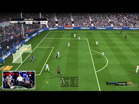 FIFA 14 PlayStation 4 Gameplay (Demo) - IGN Live - UCKy1dAqELo0zrOtPkf0eTMw