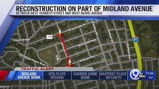 Midland Avenue road work scheduled to start Tuesday