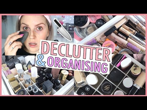 Foundation & Concealer 🔪 ORGANIZE AND DECLUTTER MY MAKEUP COLLECTION! 😏 2018 - UCMpOz2KEfkSdd5JeIJh_fxw