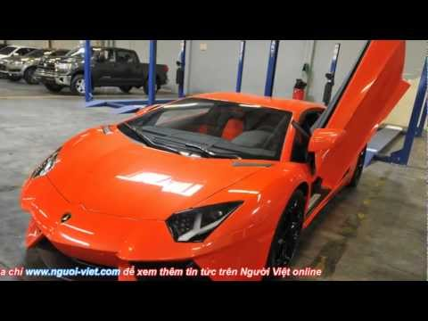 Ăn cắp xe hơi hạng sang ở Mỹ đưa về Việt Nam (Bản Tin 03-04-2012)