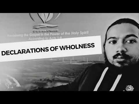 SPIRIT FILLED DECLARATIONS & AFFIRMATIONS FOR WHOLENESS AND PROGRESS WITH EV. GABRIEL FERNANDES
