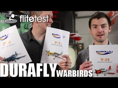 Flite Test - Durafly Warbirds - REVIEW - UC9zTuyWffK9ckEz1216noAw