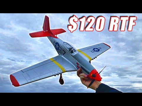Brushless P-51D Mustang RC Warbird - Volantex RC 768-1 Airplane - TheRcSaylors - UCYWhRC3xtD_acDIZdr53huA