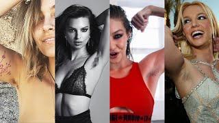 Emily Ratajkowski, Britney Spears, Gigi Hadid Rock Hairy Armpits! Check Out All The Hairy Stars!