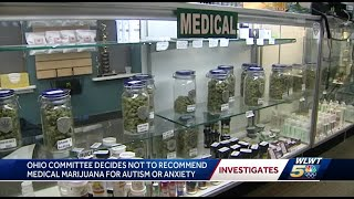 Ohio committee decides not to recommend medical marijuana for autism or anxiety