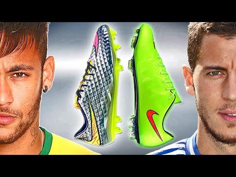 the latest 45a3e ffc97 Neymar VS Hazard - Boot Battle  Nike Hypervenom vs Mercurial Vapor X Test    Review   f-sport.lt