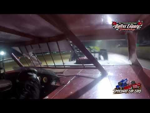 #21 Greg Scheffler - Usra B Modified - 8-20-2021 Dallas County Speedway - In Car Camera - dirt track racing video image