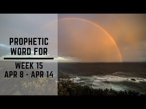 Daily Prophetic Week 15 2019