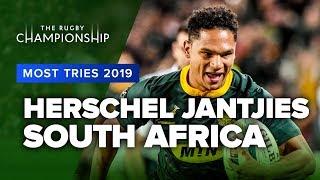 TRC MOST TRIES 2019   Herschel Jantjies