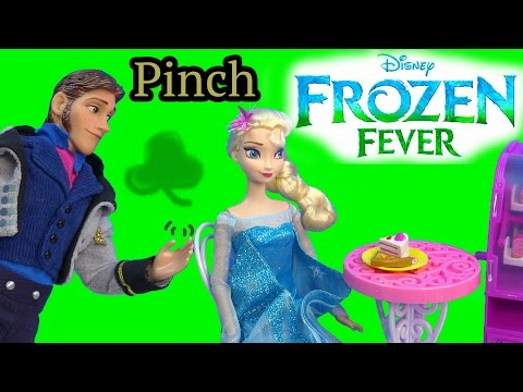 Queen Elsa Hans Pinch Princess Anna Frozen Fever Disney Dolls Kristoff St Patricks Holiday Playing - UCelMeixAOTs2OQAAi9wU8-g