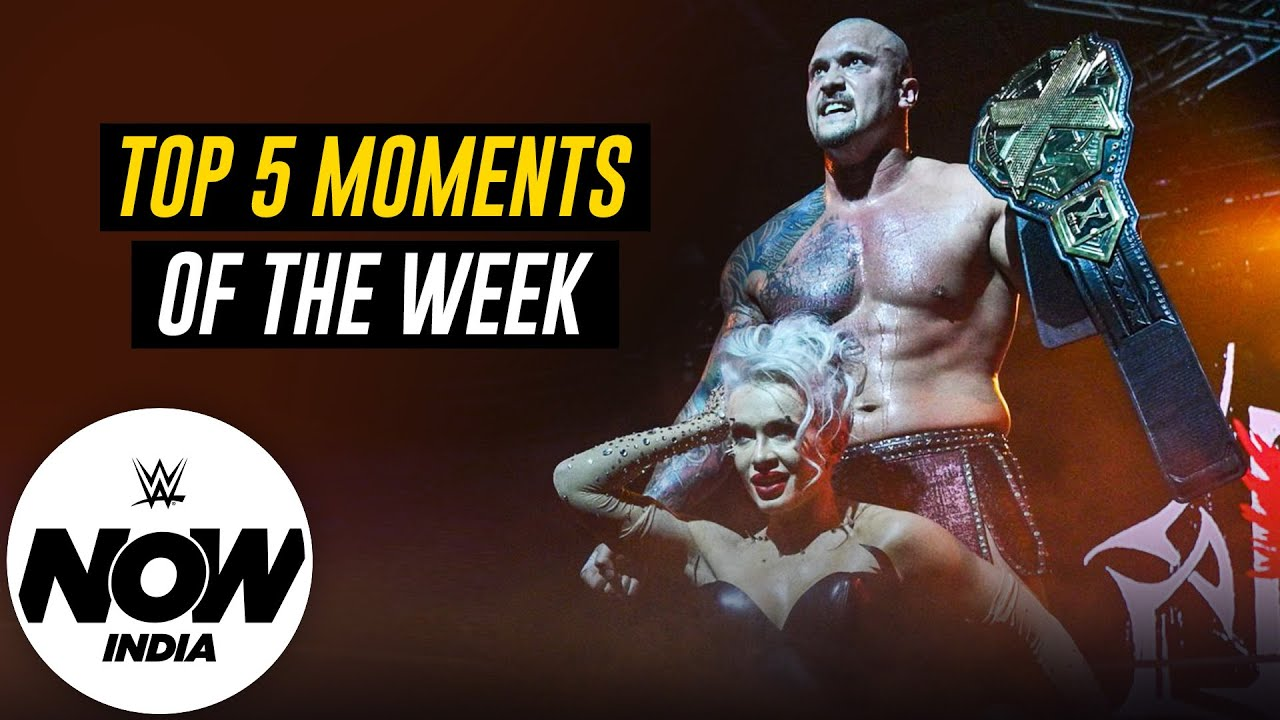 Karrion Kross Reclaims the NXT Championship from Finn Bálor: WWE Now India