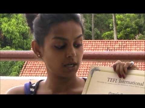 TESOL TEFL Reviews - Video Testimonial - Pam