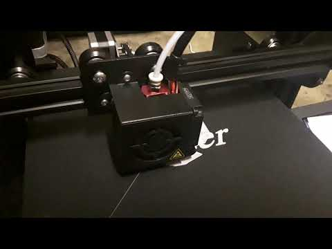 Ender 3 Pro 3D Printer Test Print