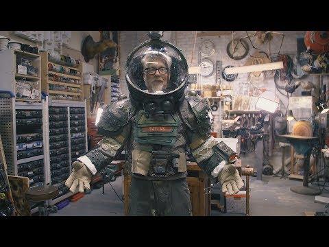 Inside Adam Savage's Cave: High School Alien Play Spacesuit! - UCiDJtJKMICpb9B1qf7qjEOA