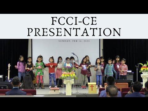 FCCI-CE Presentation 2020