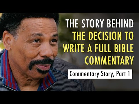 Conversations on the Commentary, Part One (Tony Evans)