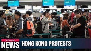 Hong Kong International Airport resumes flights on Wednesday after 2 days of mass disruption