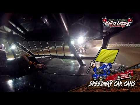 #77 Jeff Douty - USRA B Mod - 8-20-2021 Dallas County Speedway - In Car Camera - dirt track racing video image