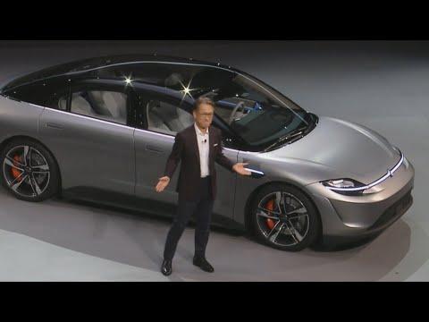 Sony компани Vision-S цахилгаан машинаа танилцууллаа