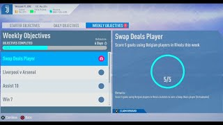 FIFA 19- Ultimate Team: Weekly Objectives (Swap Deals Player) #1162