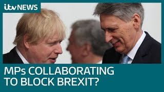 Europe and MPs collaborating to block Brexit, claims Boris Johnson | ITV News