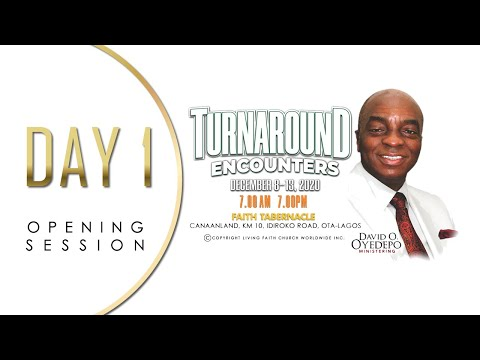 DOMI STREAM : SHILOH 2020  TURNAROUND ENCOUNTERS  8, DECEMBER 2020  FAITH TABERNACLE OTA