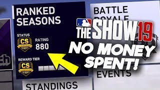 WIN FOR WORLD SERIES! No Money Spent #17! MLB The Show 19 Diamond Dynasty