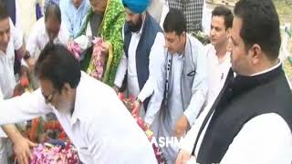 Congress Paid rich tributes to martyer of 1931   Byte Kadfeen chowdhary senior leader congress
