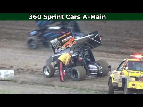 Grays Harbor Raceway, June 5, 2021, 360 Sprint Cars A-Main - dirt track racing video image