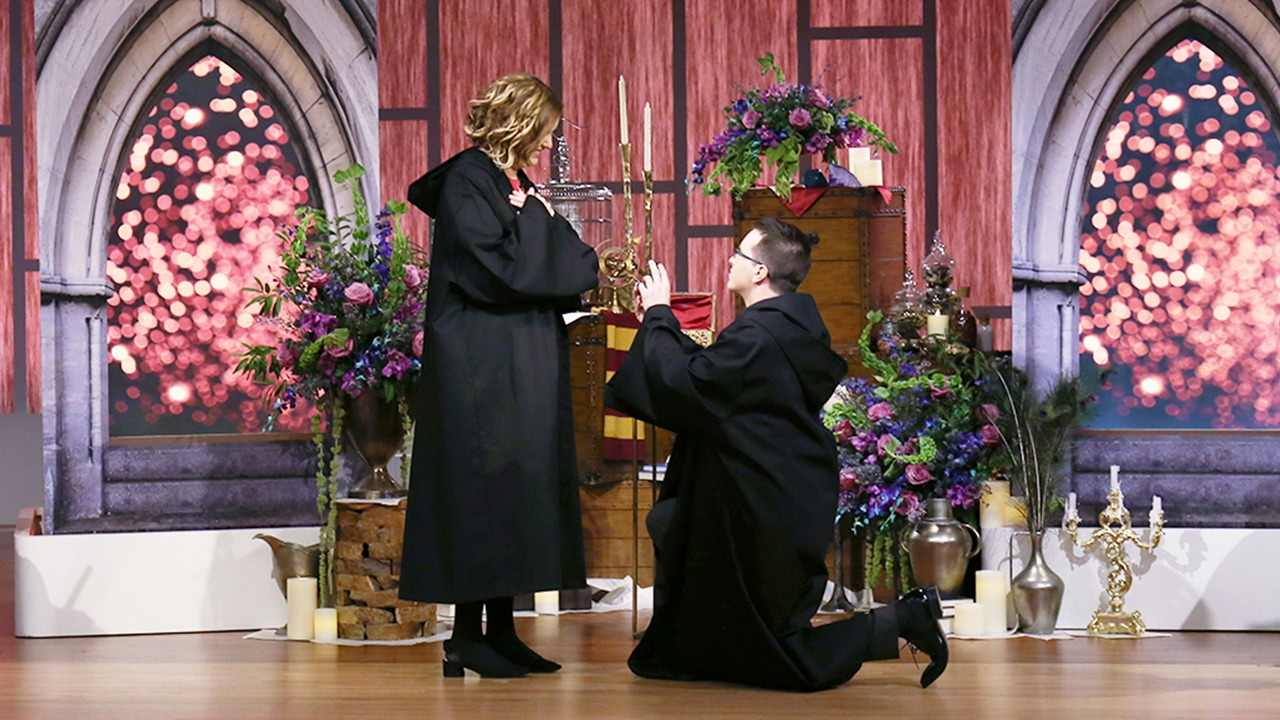 Harry Potter Style Surprise Proposal || STEVE HARVEY