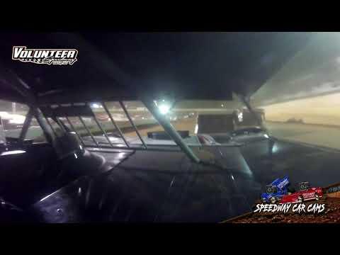 #76 Joe Bray - Sportsman - 8-21-21 Volunteer Speedway - In-Car Camera - dirt track racing video image