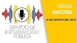 Venezuela - Avance del Servicio de Información Pública, viernes 16 de agosto de 2019  - VPItv
