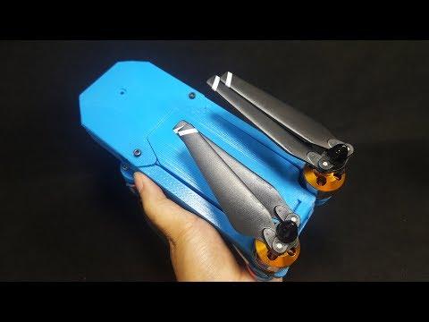 How to make a DJI Mavic Clone Quadcopter With 3D Printer - UCFwdmgEXDNlEX8AzDYWXQEg