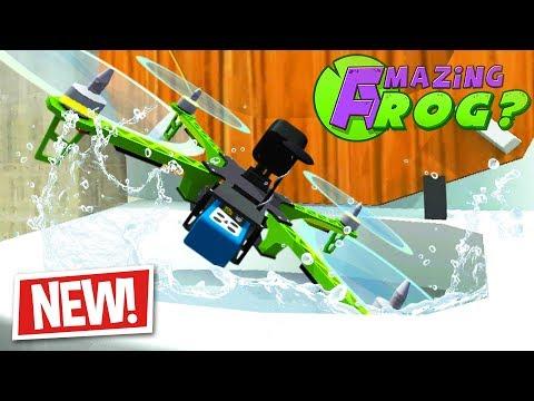 FLUSHING THE NEW DRONES DOWN THE MAGIC TOILET - Amazing Frog Part 172   Pungence - UCHcOgmlVc0Ua5RI4pGoNB0w