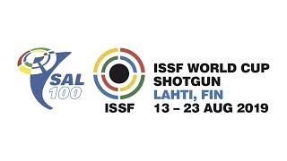 ISSF WC Shotgun Final Trap Women, Lahti, Finland 2019