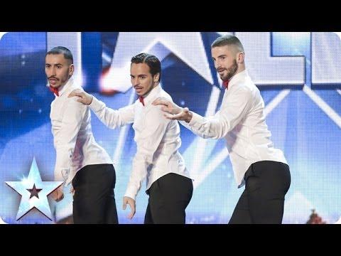 Өндөр өсгийттэй бүжигчин эрчүүд...