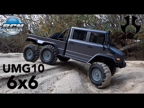 Running Video!  Axial UMG10 6x6 | SCX10ii | 6 Wheel Drive! - UCSc5QwDdWvPL-j0juK06pQw
