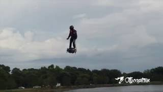 The Flyboard Air by Zapata Racing for the 1st time in USA - Naples