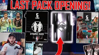 *LAST* PRIZE PACKS PACK OPENING OF NBA 2K19! INSANE GALAXY OPAL & SHOE PULL! (NBA 2K19 MYTEAM)