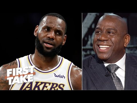 Magic laughs at the idea of the Lakers trading LeBron | First Take - UCiWLfSweyRNmLpgEHekhoAg