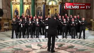St. Petersburg Choir Sings about Bombing America: On a Nuclear Submarine with 100-Megaton Bombs