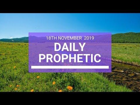 Daily Prophetic 18 November Word 3