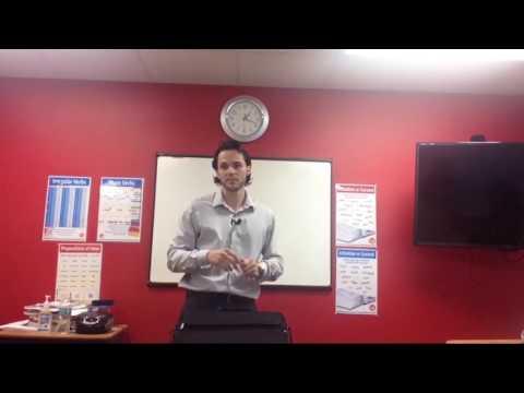 OTP English Lesson - Richard - Warm Up - Lottery