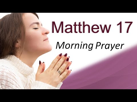GOD KNOWS HOW TO PAY YOUR BILLS - MATTHEW 17 - MORNING PRAYER (video)