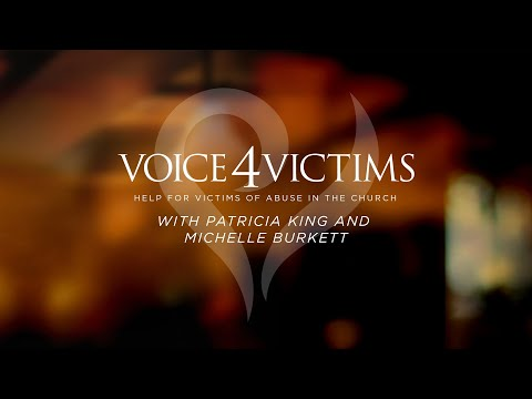 Free From Shame // Voice 4 Victims // Patricia King and Dr. Michelle Burkett