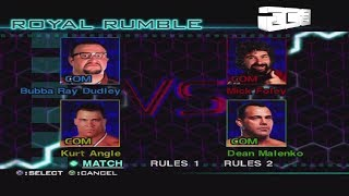 WWF Smackdown Just Bring It 30 Superstar Royal Rumble