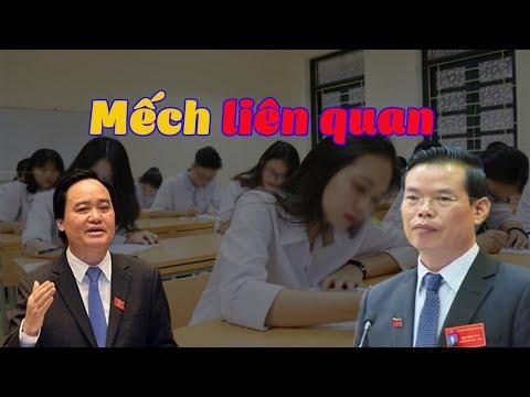 Vụ nâng điểm thi THPT tại Hà Giang: BT Phùng Xuân NHạ chối bay trách nhiệm