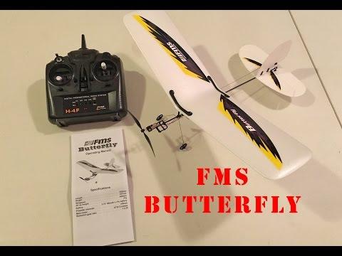 FMS Butterfly RTF Airplane Unboxing - UCLqx43LM26ksQ_THrEZ7AcQ