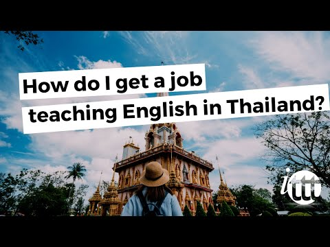 How do I get a job teaching English in Thailand?